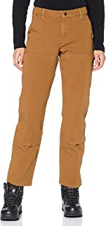 CARHARTT Women's Stretch Twill Double Front Trousers Work Utility Pants