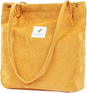 Canvas Mini Tote For Girls 100/% Cotton Orange with Blue and White Accent.