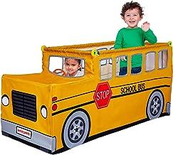 Antsy Pants School Bus Kit   Active, Imagination, Build & Play   Poles, Connectors, and Cover   Fun for Kids & Parents