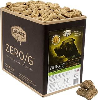 Darford 15342 Zero/G Roasted Chicken Dog Treats, Regular Size/15 Lb