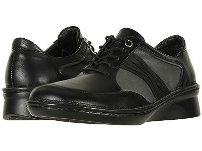 Naot Mezzo (Black Leather Combo) Women