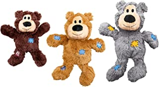 KONG Wild Knots Bear Dog Toy - Small/Medium - Assorted Colors