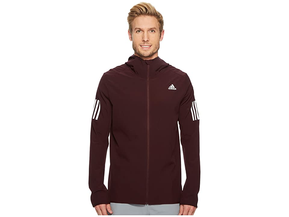 adidas Response Softshell Jacket (Dark Burgundy) Men
