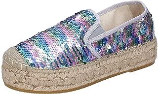 Vidorreta Loafer Flats Womens Silver