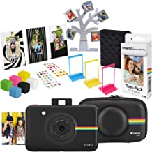 Polaroid Snap Instant Digital Camera (Black) Gift Kit