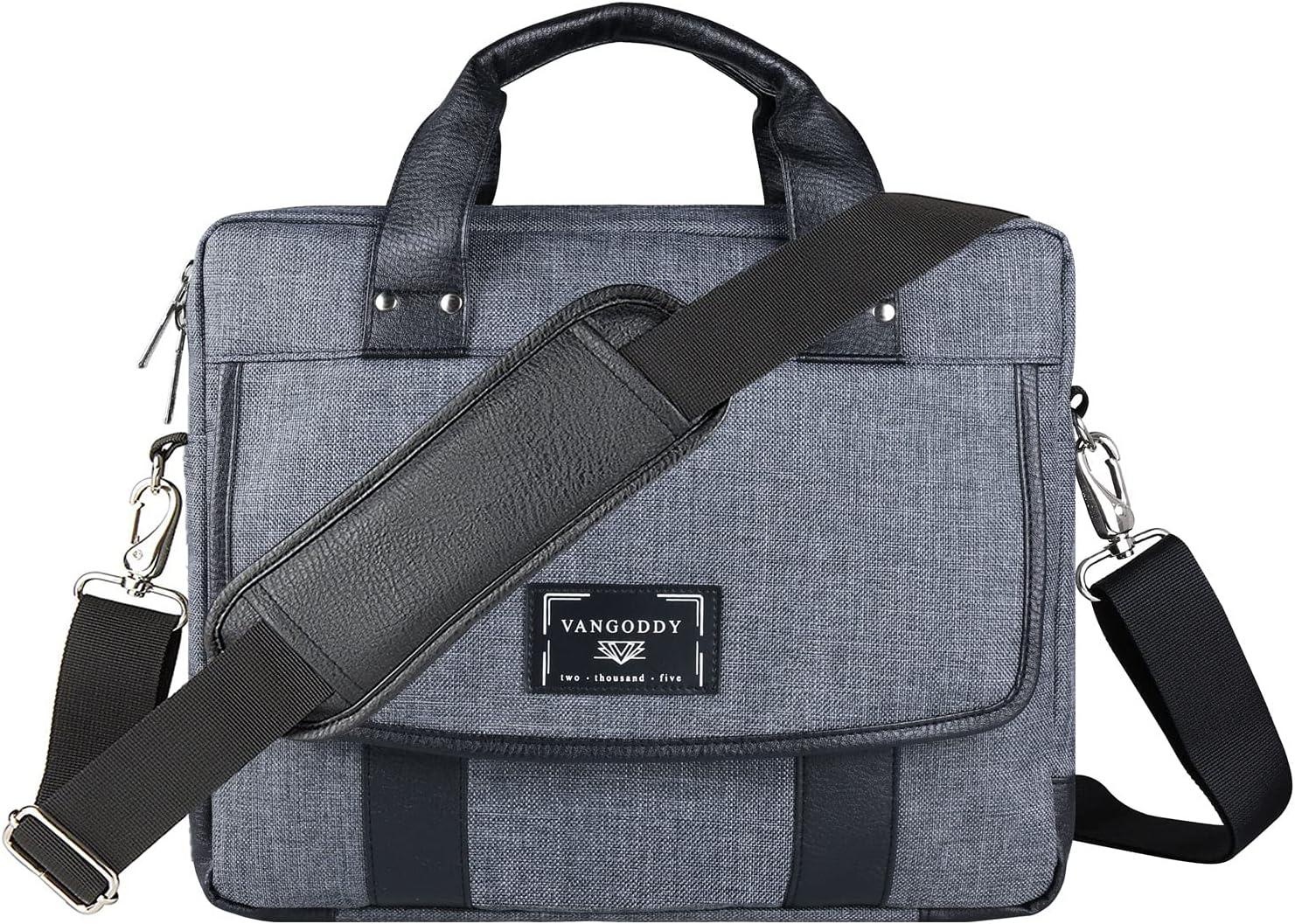 Protective Laptop Max 52% OFF Messenger Shoulder fo Briefcase Bag Travel Large discharge sale