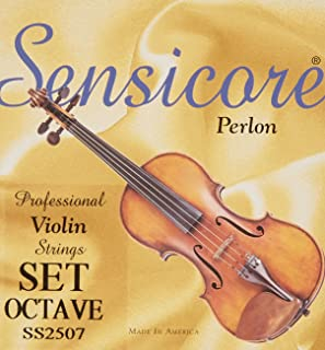 Super Sensitive Strings Sensicore Octave Violin Set 4/4 Medium Gauge (2507)