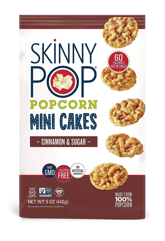 SkinnyPop Cinnamon free Sugar Popcorn Sale SALE% OFF Mini 4ct Cakes 5oz Grocery