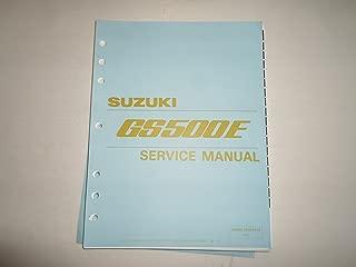 1990-1999 Suzuki GS500E GS 500 E Motorcyle Service Shop Repair Manual LOOSE LEAF
