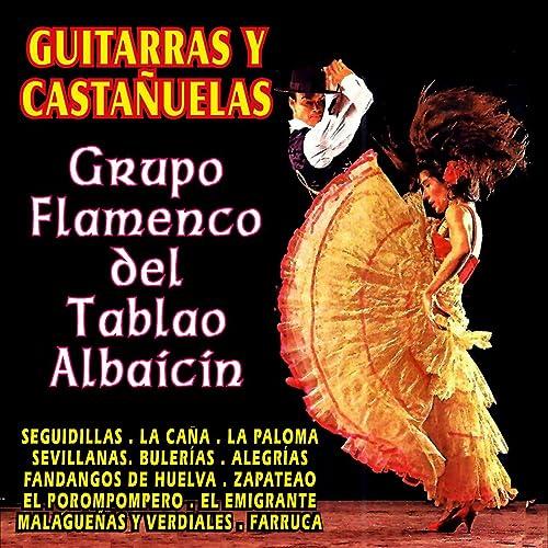 Guitarras y Castañuelas de Grupo Flamenco Del Tablao Albaicin en ...
