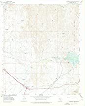 Arizona Maps - 1966 Florence Junction, AZ USGS Historical Topographic Map - Cartography Wall Art - 44in x 55in