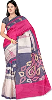 Winza Designer Women's Cotton Silk Saree with Blouse (1133+ variation)