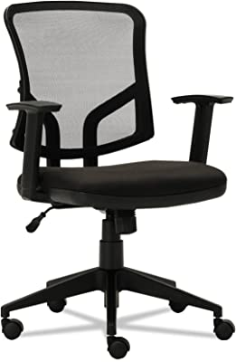 Alera ALETE4817 Everyday Task Office Chair, Black Mesh