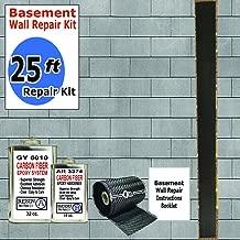 25 ft-Carbon Fiber-Basement Wall Crack Repair Kit