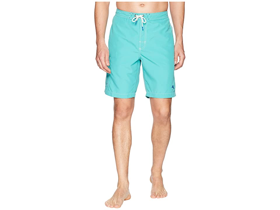 Tommy Bahama Baja Beach Swim Trunk (Castaway Green) Men