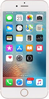 Apple iPhone 6s 64GB Unlocked GSM 4G LTE Dual-Core Phone w/ 12 MP Camera - Rose Gold (Renewed)