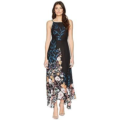 Free People Embrace it Maxi Dress (Black Combo) Women