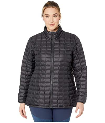 The North Face Plus Size Thermoball Eco Jacket (TNF Black Matte) Women