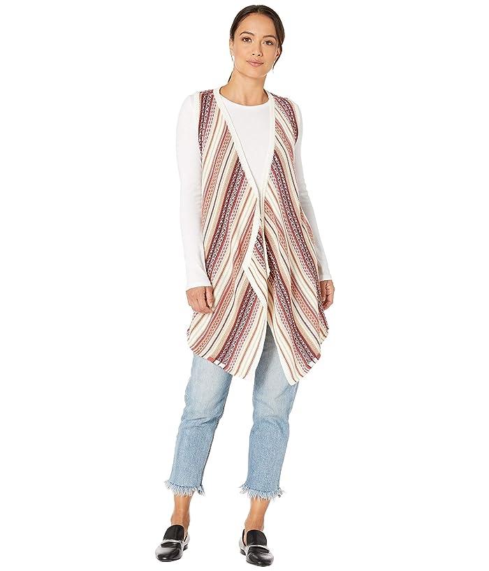 Women's 70s Shirts, Blouses, Hippie Tops Aventura Clothing Kennedy Vest Whisper White Womens Vest $74.25 AT vintagedancer.com