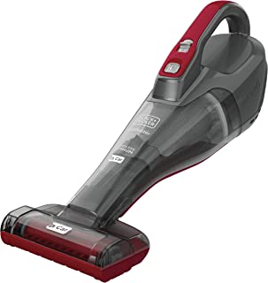 BLACK + DECKER dustbuster QUICKCLEAN Cordless Handheld Car Vacuum (HLVB315JA26)