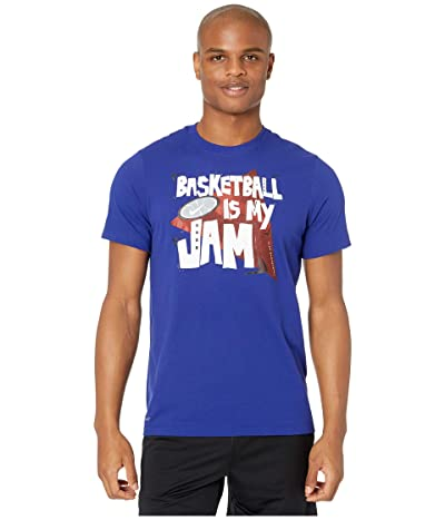 Nike Dry Tee Basketball Jam (Regency Purple/Team Orange) Men