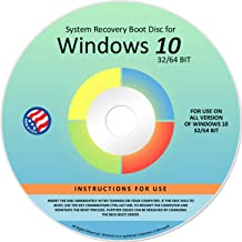 Ralix Reinstall DVD For Windows 10 All Versions 32/64 bit. Recover, Restore, Repair Boot Disc, and Install to Factory Defa...