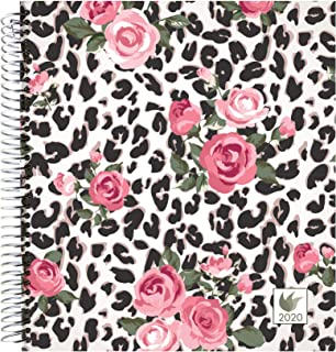 InnerGuide 2020 Planner - 2020 Calendar Year - 8x9 Inch Appointment Book - Daily Weekly & Monthly - by Inner Guide Life Planners (Roses Cover)