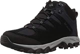 Columbia Men's Buxton Peak Mid Waterproof, Breathable, High-Traction Grip