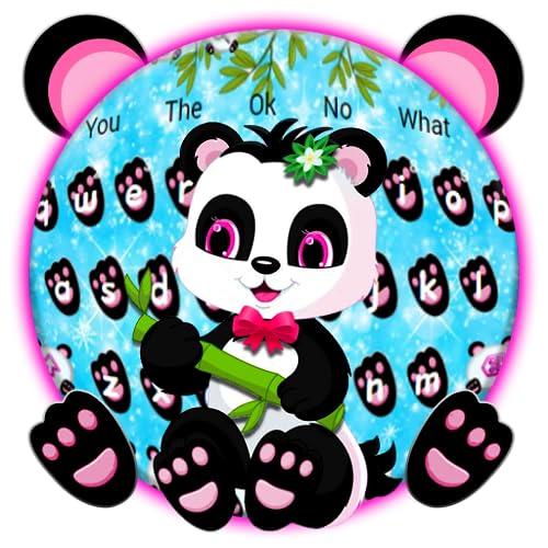 Cute Panda Keyboard Theme
