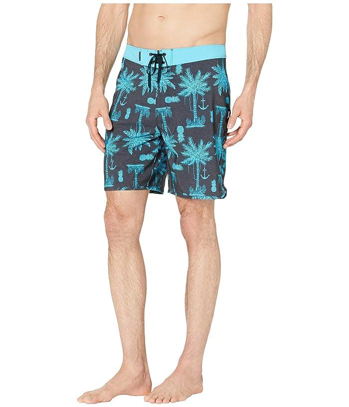 fb81a47542 Hurley 18 Phantom Asylum Boardshorts (Anthracite) Men's Swimwear