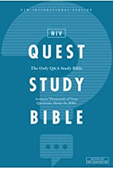 NIV, Quest Study Bible: The Only Q and A Study Bible Kindle Edition