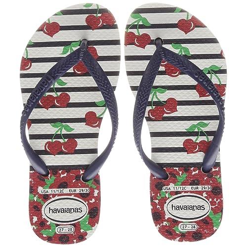 f1b52eb40 Havaianas Unisex Adults  Kids Slim Fashion Flip Flops
