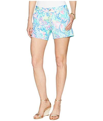 Lilly Pulitzer Callahan Knit Shorts (Multi Mermaids Cove) Women