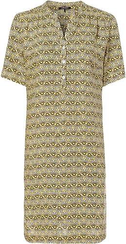 8a25070a3673 de - Olsen Lino, Vestido amarillo Color Estampaño, Diseño ...
