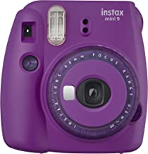 Fujifilm Mini 9 Instant Camera with Clear Accents (Purple)
