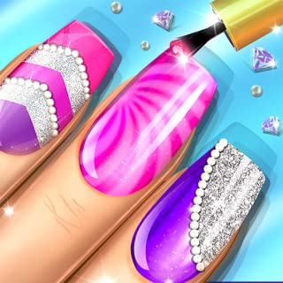 Princess Nail And Makeup Salon - Beauty Spa And Makeover Game for Girls