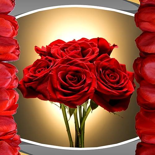 Colagem romântica da foto