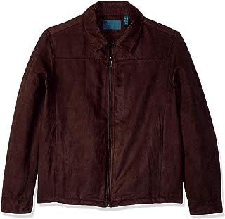 Amazon.com  Perry Ellis - Leather   Faux Leather   Jackets   Coats ... a8d5a4bac