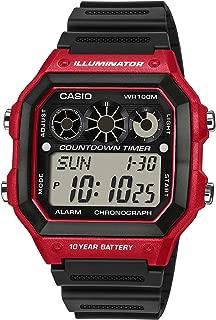 Casio Casual Watch Digital Display Quartz Ae-1300Wh-4Av, Black Band, For Unisex