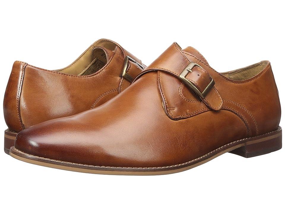 Florsheim Montinaro Single Monk Strap (Saddle Tan Smooth) Men
