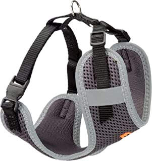 Ferplast Nikita P Xs, Soft and High Quality Nylon Harness- Black