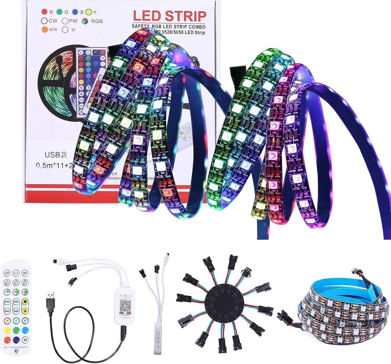LED Firework Lights Sound Lightwave Control Regular dealer Dru Light Easy-to-use