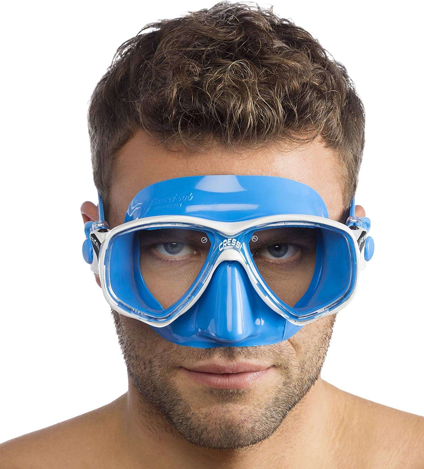 Adult Small Inner Volume Mask for Scuba Snorkeling Quality Since 1946 Marea Made in Italy by Cressi