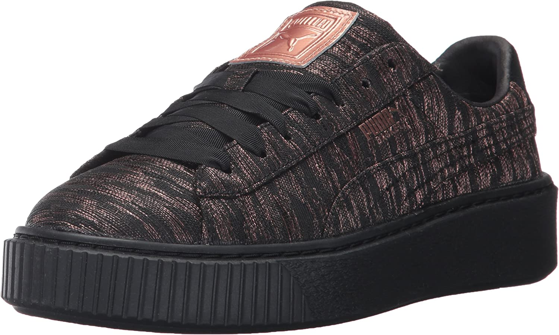 PUMA Womens Basket Platform Vr Wn Sneaker