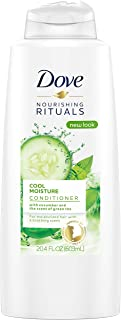 Dove Nourishing Rituals Conditioner, Cool Moisture 20.4 oz (pack of 2)