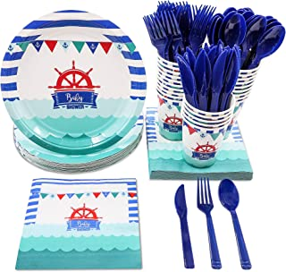 Best nautical baby shower supplies Reviews