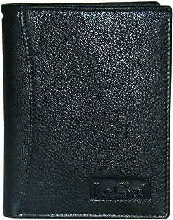 Le Craf Black Leather Men's Wallet