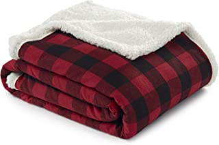 Best red and black sherpa throw Reviews