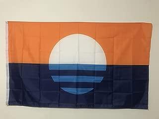 Ahaylyn 3x5 Ft People's Flag of Milwaukee Flag Banner,Sunrise Over The Lake Flag