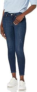 Tommy Hilfiger Damen Women's Skinny Jean Women's Skinny Mid Rise Ankle Jean